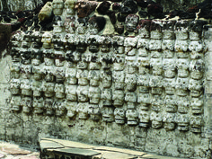 Tzompantli del templ