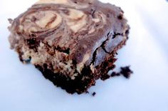 mostly paleo cheesecake swirl brownies