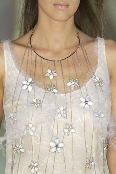 nina ricci flowerfall necklace