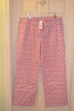 Vineyard Vines Whale Sprinkle Lazy Pants Pajamas-Size Extra Large-BNWT