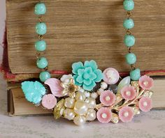 My favorite combination- pink and aqua- sold by alona.freeman, via Flickr