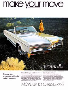 1968 Chrysler 300 convertible ad