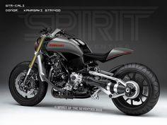 Spirit of the Seventies Concepts Kawasaki GTR1400