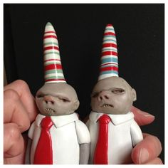 "Toy Art by Doubleparlour - dunce-cap twins ""Clerks"""