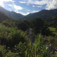 Cañón del río nus , Colombia