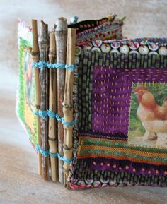 Love this journal. Would never have thought of a fabric journal. Patty Van Dorin is so artistic and creative.