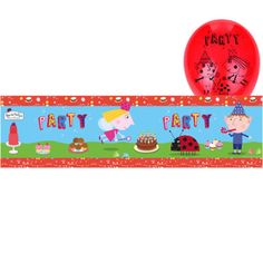 NEW-Ben-and-Holly-Birthday-Party-Ladybird-Tableware-Supplies-Plates-Napkins-Cups