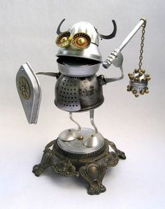 robots made from household items - Google Search
