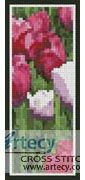 Tulips photo Bookmark Counted Cross Stitch Pattern http://www.artecyshop.com/index.php?main_page=product_info&cPath=26&products_id=1398