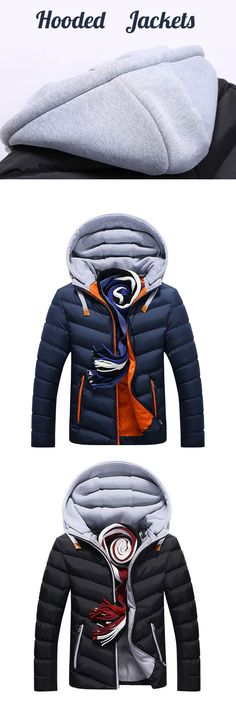Meet this Stylish Hooded Jacket. 2018 New Trend for Men. Click to See More.