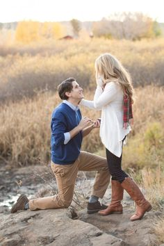 Read surprise proposal in the woods& marriage proposal story on ho Unique Engagement Photos, Engagement Couple, Surprise Proposal, Proposal Ideas, Brides With Tattoos, Cute Photography, Anniversary Photos, Marriage Proposals, Couples In Love