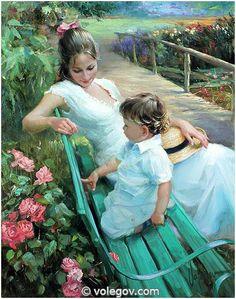 """On the Walk"" by Vladimir Volegov"