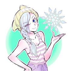 Winter's new outfit