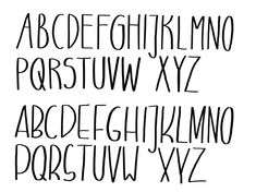 Art with letters - our lettering tips - part 1 - Art with Letters – Our Lettering Tips Hand Lettering Alphabet, Script Lettering, Life Journal, Bullet Journal, Art Doodle, How To Make Scrapbook, Leaf Illustration, Creative Journal, Journal Ideas