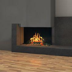 Faber Matrix 1050/650 II Hoek Fireplace Design, Home Decor, Log Burner, Environment, Arquitetura, Houses, Decoration Home, Room Decor, Interior Decorating