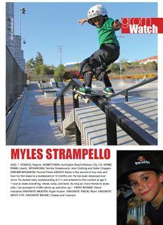 Issue 1, GromWatch: Myles Stampello