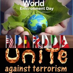 #WorldEnvironmentDay #unitedkingdom love the earth because it is wonderful and we love life that is wonderful Together with all terrorists