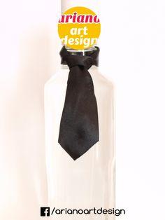 Krawat na butelkę wiązany, wódkę 5 szt zawieszki weselne PL Design, Alcohol