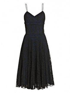 BLACK by ERDEM  ///  black heels & bag  // silver jewelry