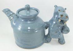 hippo teapot by Gary Rith