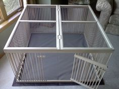 Love this kennel, I think it would make a wonderful guinea pig or bunny enclosure too