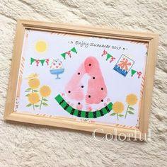 Baby Handprint Crafts, Footprint Crafts, Baby Crafts, Preschool Crafts, Crafts For Kids, Diy And Crafts, Projects For Kids, Diy For Kids, Toddler Art