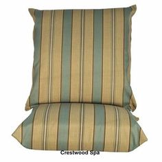 Algoma Net Company Cushions for Hanging Chairs (Set of 2)