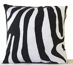 Zebra Striped Embroidered Cushion Cover in Black and Whit... https://www.amazon.co.uk/dp/B00L2DHKFW/ref=cm_sw_r_pi_dp_U_x_N.4mBbK1B2SHF