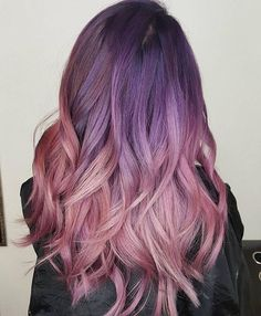 75 Outstanding Ombre Hair Ideas: Many colors and even Blue!