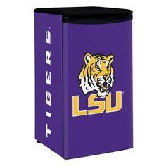 LSU Tigers mini fridge