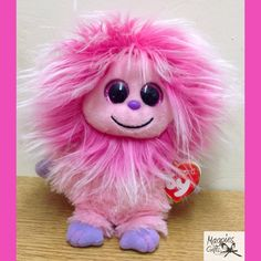 Fizzy Kink by TY in stock at Magpies Gifts. Magpies Gifts, Monster, Plush, Teddy Bear, Bears, Plushies, Sweatshirts