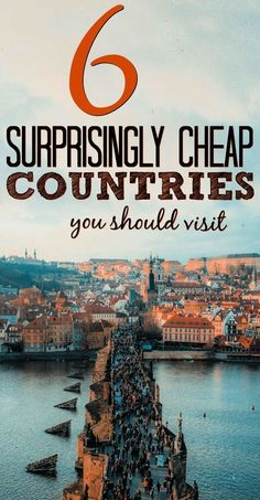 Cheap countries to visit that wont break your bank. Lack of money doesnt have to make travel impossible. Here are 6 surprisingly affordable travel destinations. Travel Jobs, Top Travel Destinations, Ways To Travel, Best Places To Travel, Budget Travel, Travel Hacks, Travel Essentials, Travel Ideas, Travel Stuff