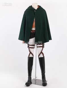 Wholesale Costume Accessories - Buy Chic Rivaille/Levi Cosplay Attack On Titan Costume #u5-1kK8, $75.4 | DHgate