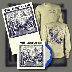 The Story So Far Vinyl Gatefold LP   Skull Panther Cream Long Sleeve   Poster Bundle