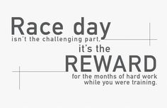 Triathlon motivation. Race day