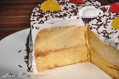 Tort de zahar ars | Retete culinare cu Laura Sava