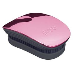 Ikoo Pocket Detangling Hair Brush - Black/Rose Metallic ($22) ❤ liked on Polyvore featuring beauty products, haircare, hair styling tools, brushes & combs, detangling brush, detangle brush, detangler brush, hair brush and detangling hair brush