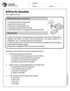 Bolitas de chocolate
