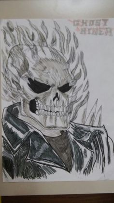 Ghost Rider (my drawing)