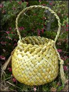 ideas for basket weaving diy people Flax Weaving, Willow Weaving, Paper Weaving, Basket Weaving, Hand Weaving, Flax Flowers, Types Of Weaving, Maori Designs, Maori Art