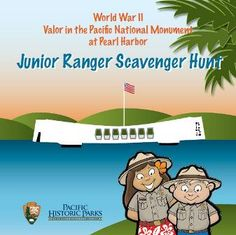 Keiki Ranger Activity Book and Junior Ranger Scavenger Hunt