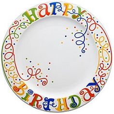 birthday plate - might diy something like this. birthday plate - might diy something like this. Sharpie Projects, Sharpie Crafts, Diy Sharpie Mug, Diy Craft Projects, Sharpie Doodles, Birthday Traditions, Family Traditions, Birthday Celebration, Sharpie Plates