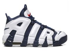 Nike Air More Uptempo 2016 Olympic White Navy Gold (414962-104) f6eac95fe