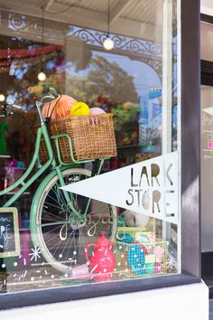 The new Lark store on Gertrude St, Fitzroy. Photo by Hilary Walker via thedesignfiles.net