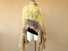 Crickets Meyeres, designer of the Stevie Nicks shawl worn during Rhiannon, has now created a Gold Dust Woman version with metallic sparkle fringe!