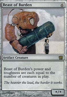 8th Edition: Beast of Burden
