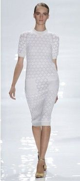 Derek Lam 2012-Short Sleeve Dress with Front Pockets
