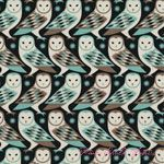 Joel Dewberry Birch Farm Barn Owl Egg Blue [FS-JD092-EggBlue] - $10.95 : Pink Chalk Fabrics is your online source for modern quilting cottons and sewing patterns., Cloth, Pattern + Tool for Modern Sewists
