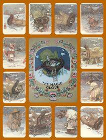το Μαγικό Γάντι,παραδοσιακό ουκρανικό παραμύθι(υλικό και δραστηριότητες) Winter Activities, Mittens, Diy And Crafts, Projects To Try, Artwork, Blog, Education, Kids, English