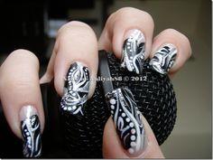 Black, Silver & White Design